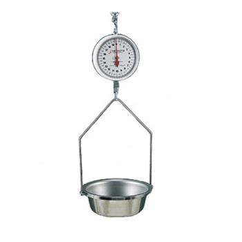 DETMCS40F - Detecto - MCS-40F - 20 lb x 2 oz Dial Hanging Scale Product Image