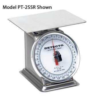 DETPT25SR - Detecto - PT-25SR - 25 lb x 1/8 lb Mechanical Scale Product Image