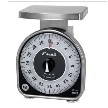 51176 - Escali Scales - SCMDL2 - 2 Lb MS Series Dial Scale Product Image