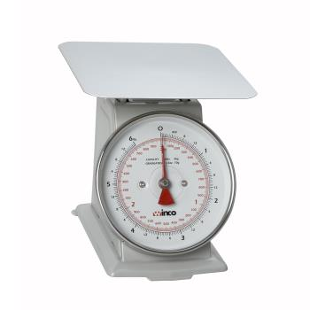 85791 - Winco - SCAL-66 - 6 Lb x 1/2 Oz Dial Type Receiving Scale Product Image