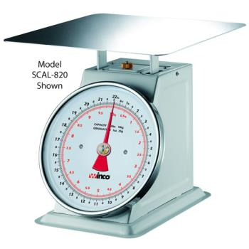 WINSCAL820 - Winco - SCAL-820 - 20 lb x 1 oz Mechanical Scale Product Image