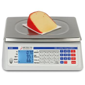 DETD30 - Detecto - D30 - 30 lb Price Computing Scale Product Image