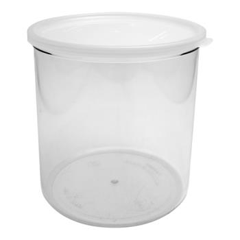 CAMCCP12152 - Cambro - CCP12152 - 1.2 qt Clear Crock with Lid Product Image