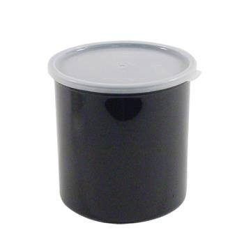 78748 - Cambro - CP12110 - 1 2/5 qt Black Crock with Lid Product Image