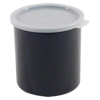78757 - Cambro - CP27110 - 2.7 qt Black Crock with Lid Product Image