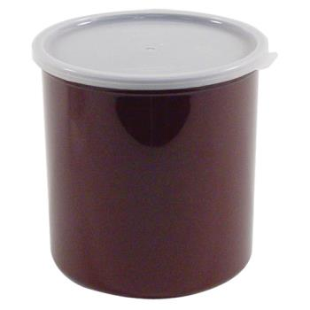 78758 - Cambro - CP27195 - 2.7 qt Brown Crock with Lid Product Image