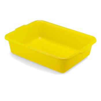 79109 - Vollrath - 1521-C08 - 20 in x 15 in x 5 in Yellow Traex® Color-Mate™ Food Box Product Image