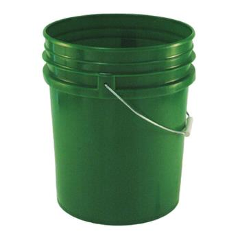 86162 - Commercial - 5 gal Green FDA Food Storage Pail Product Image