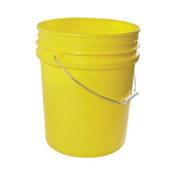 86163 - Commercial - 5 gal Yellow FDA Food Storage Pail Product Image