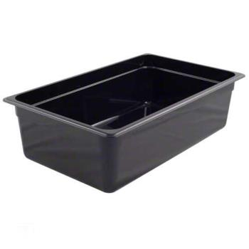 99266 - Cambro - 16CW110 - Full Black Plastic Food Pan Product Image
