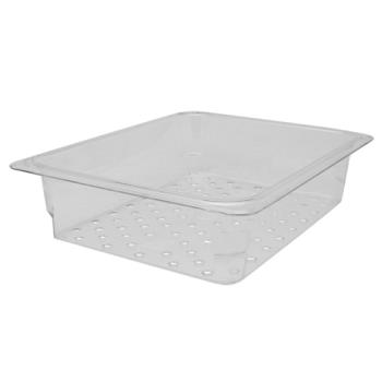 78400 - Cambro - 23CLRCW135 - 1/2 Size 3 in Deep Camwear® Colander Food Pan Product Image