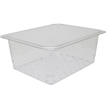 78401 - Cambro - 25CLRCW135 - 1/2 Size 5 in Deep Camwear® Colander Food Pan Product Image