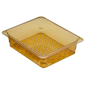 CAM25CLRHP150 - Cambro - 25CLRHP150 - 1/2 Size 5 in Deep H-Pan™ Colander Product Image