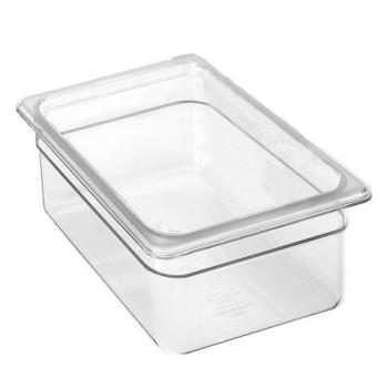 99265 - Cambro - 28CW135 - 1/2 Size 8 in Deep Clear Camwear® Food Pan Product Image
