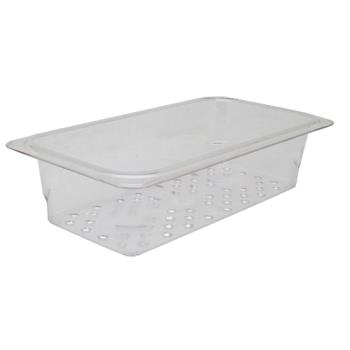 78402 - Cambro - 33CLRCW135 - 1/3 Size 3 in Deep Camwear® Colander Food Pan Product Image