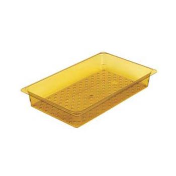 CAM33CLRHP150 - Cambro - 33CLRHP150 - 1/3 Size 3 in Deep H-Pan™ Colander Product Image