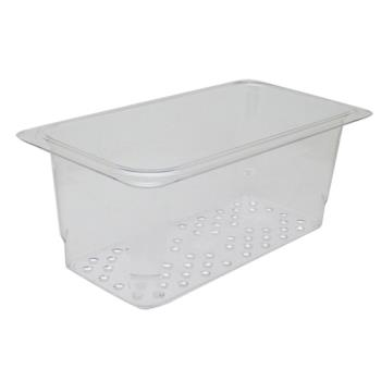 78403 - Cambro - 35CLRCW135 - 1/3 Size 5 in Deep Camwear® Colander Food Pan Product Image