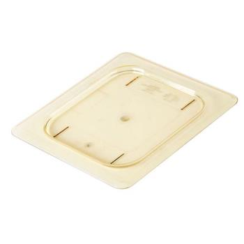 281591 - Cambro - 60HPC150 - 1/6 Size Amber H-Pan™ Flat Cover Product Image