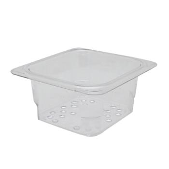 78404 - Cambro - 63CLRCW135 - 1/6 Size 3 in Deep Camwear® Colander Food Pan Product Image