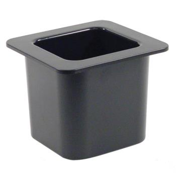 78756 - Cambro - 66CF110 - 1/6 Size 6 in Black Deep ColdFest® Cold Pan Product Image