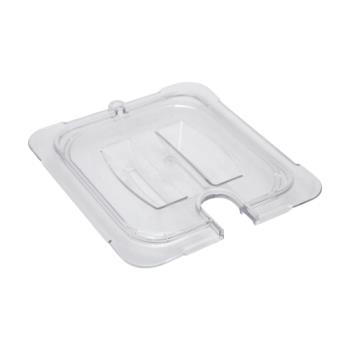 78418 - Carlisle - 10311U07 - 1/6 Size Notched StorPlus™ Food Pan Cover Product Image