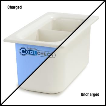 CFSCM1103C1402 - Carlisle - CM1103C1402 - 1/3 Size Divided Coldmaster® CoolCheck Food Pan Product Image