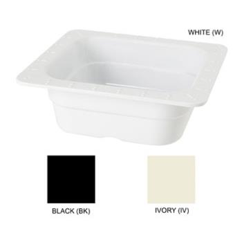 GETML157W - GET Enterprises - ML-157-W - 2 in Deep 1/6 Size White Food Pan Product Image