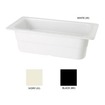 GETML20BK - GET Enterprises - ML-20-BK - 4 in Deep 1/3 Size Black Food Pan Product Image