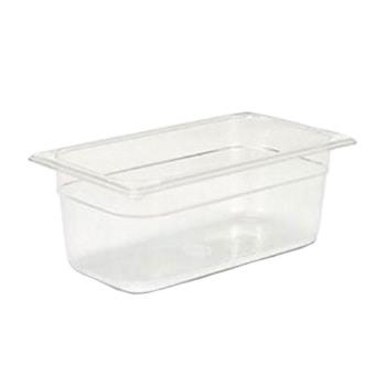 86851 - Rubbermaid - FG117P00CLR - Third Size 4 in Deep Food Pan Product Image