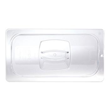 86820 - Rubbermaid - FG121P23CLR - Third 1/3 Size Lid With Peg Hole Product Image