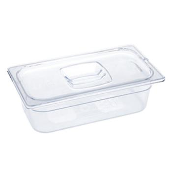 86818 - Rubbermaid - FG125P00CLR - Half Size 6 in Deep  Storage Pan Product Image