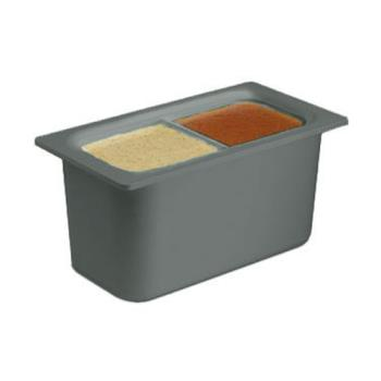 SANCI7002BK - San Jamar - CI7002BK - Chil-It™ Third Size 6 in Deep Black Food Pan Product Image