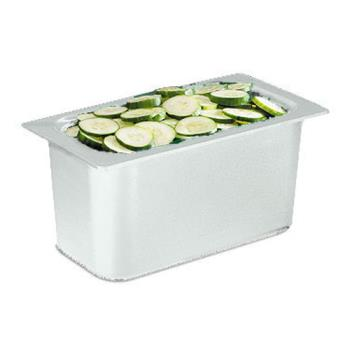 SANCI7003WH - San Jamar - CI7003WH - Chil-It™ Third Size 6 in Deep White Food Pan Product Image