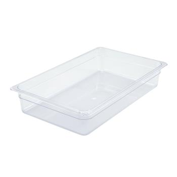 WINSP7104 - Winco - SP7104 - Poly-Ware Full Size 4 in Deep Food Pan Product Image