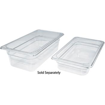 WINSP7202 - Winco - SP7202 - Poly-Ware Half Size 2 1/2 in Deep Food Pan Product Image
