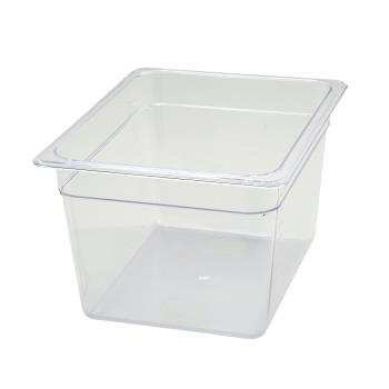 WINSP7208 - Winco - SP7208 - Poly-Ware Half Size 8 in Deep Food Pan Product Image
