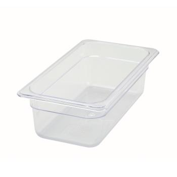 WINSP7304 - Winco - SP7304 - Poly-Ware Third Size 4 in Deep Food Pan Product Image