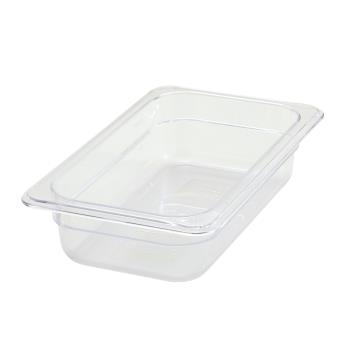 WINSP7402 - Winco - SP7402 - Poly-Ware Quarter Size 2 1/2 in Deep Food Pan Product Image