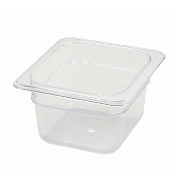 WINSP7604 - Winco - SP7604 - Poly-Ware Sixth Size 4 in Deep Food Pan Product Image