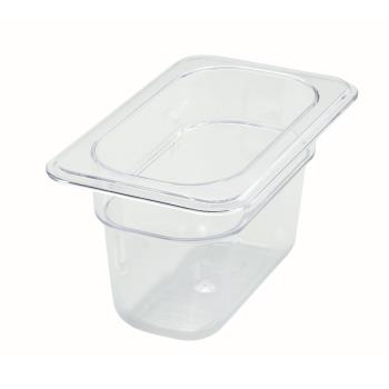 WINSP7904 - Winco - SP7904 - Poly-Ware Ninth Size 4 in Deep Food Pan Product Image