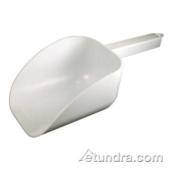 BARCR838WN - Bar Maid - CR-838W-N - 32 oz White Scoop w/Hook Handle Product Image