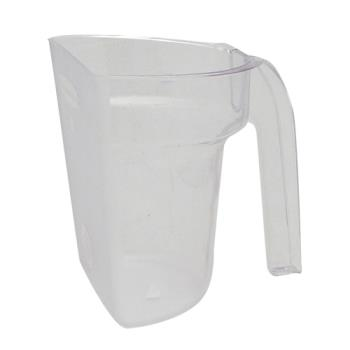 85929 - Rubbermaid - 9G5400 CLR - 64 oz Safety Portioning Scoop Product Image
