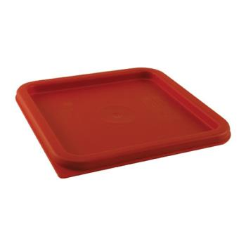 78514 - Cambro - SFC6451 - 6 and 8 qt CamSquare® Red Cover Product Image