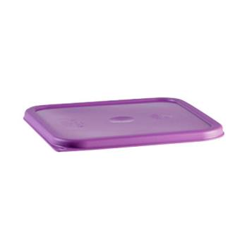 89219 - Cambro - SFC6SCPP441 - 6 to 8 qt Allergen Free Purple CamSquare® Cover Product Image