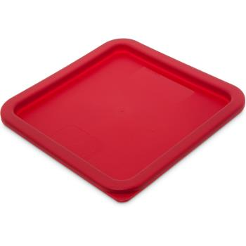 79408 - Carlisle - 1074105 - 6 and 8 qt StorPlus™ Red Storage Cover Product Image