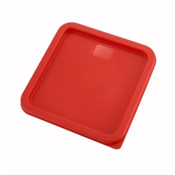 WINPECC68 - Winco - PECC-68 - 6 and 8 qt Red Cover Product Image