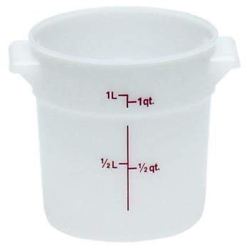 75125 - Cambro - RFS1148 - 1 qt Food Storage Container Product Image