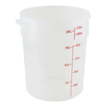 78586 - Cambro - RFS22PP190 - 22 qt Food Storage Container Product Image