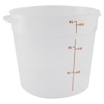 78582 - Cambro - RFS6PP190 - 6 qt Food Storage Container Product Image