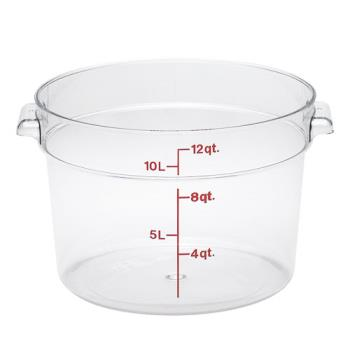 78594 - Cambro - RFSCW12135 - 12 qt Camwear® Food Storage Container Product Image
